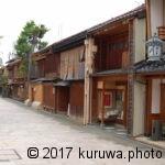 西郭(にし茶屋街) -石川県-